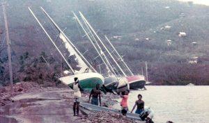 Wrecks from Hugo