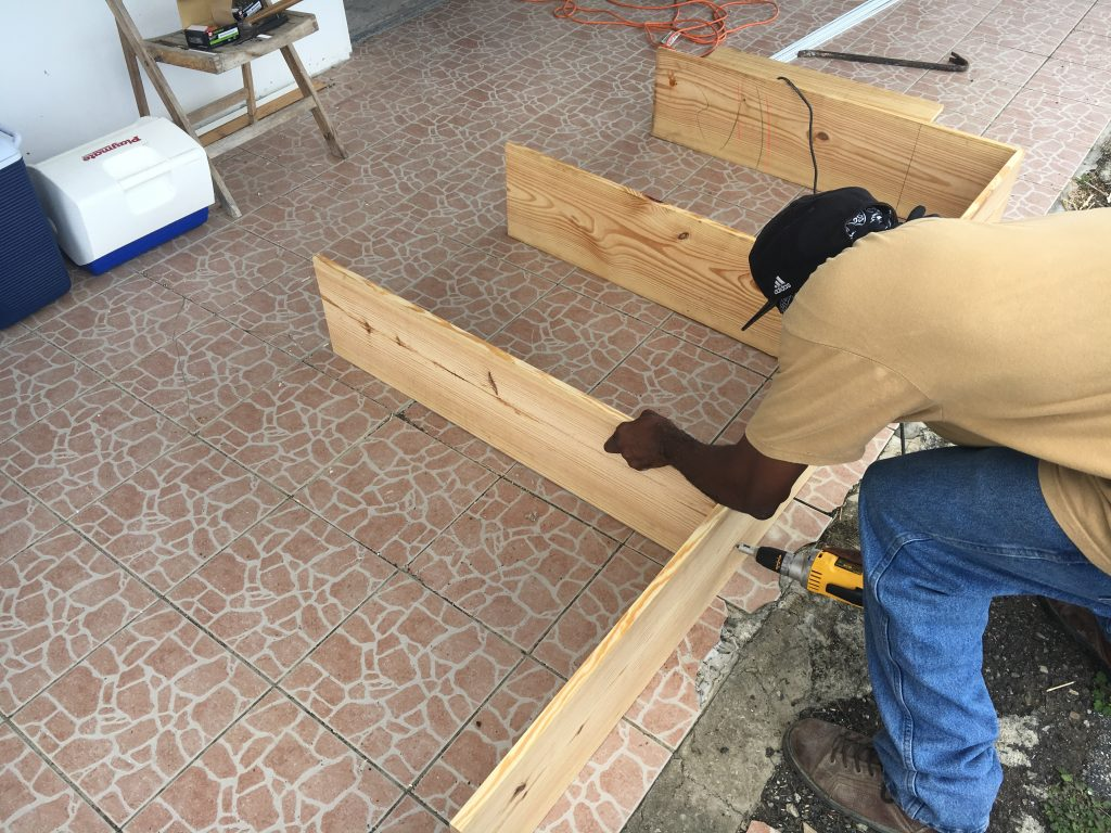 Rebuilding Cabinets