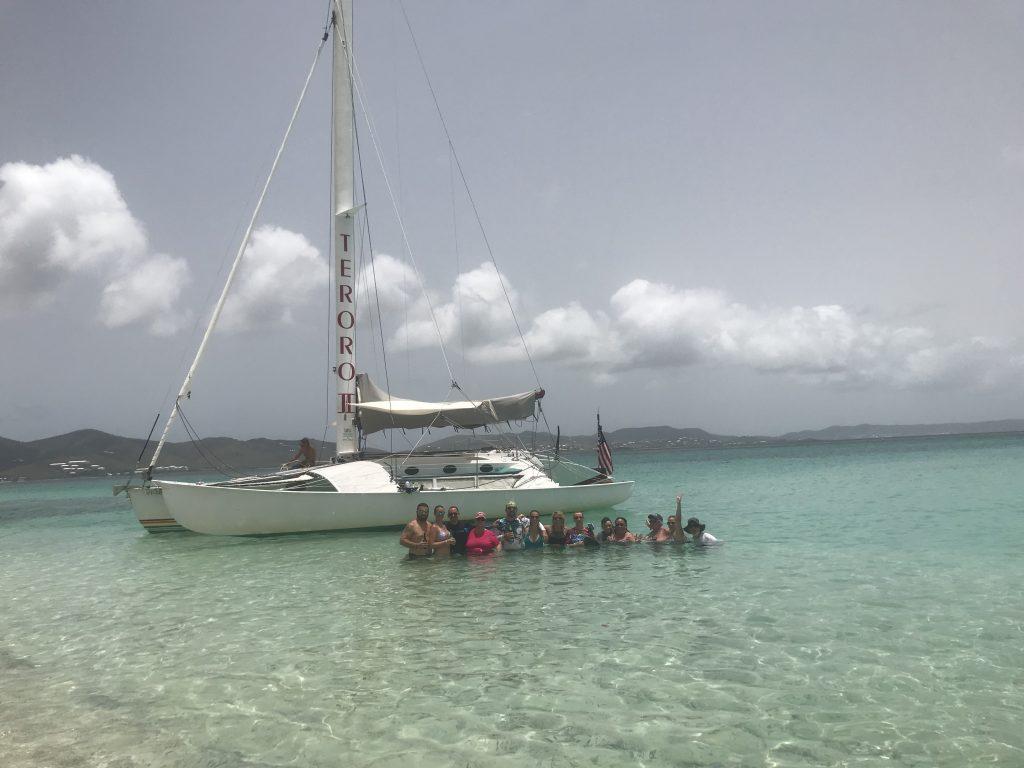 Buck Island Sail