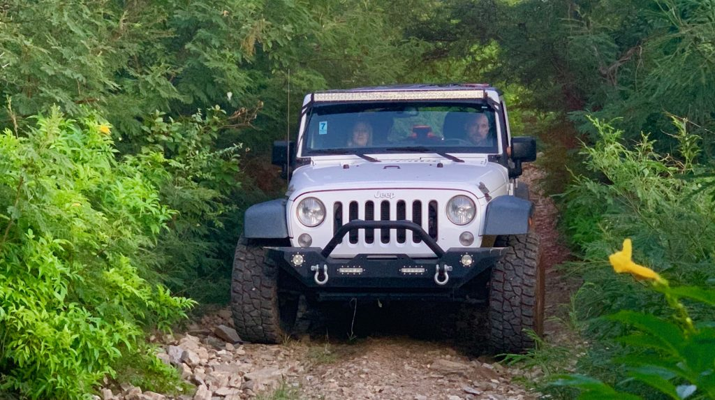 Jeep on the Jeep Trail
