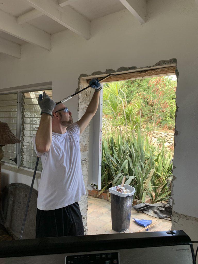 Demolition First, Before Blocking Up Doorway