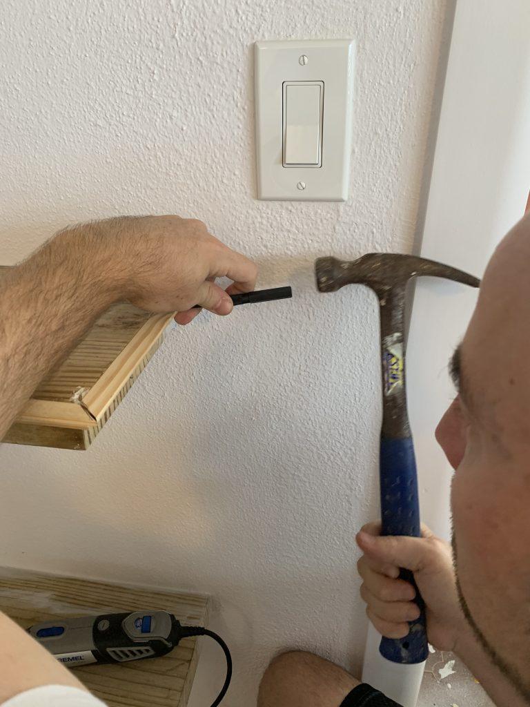 Using a Nail Punch