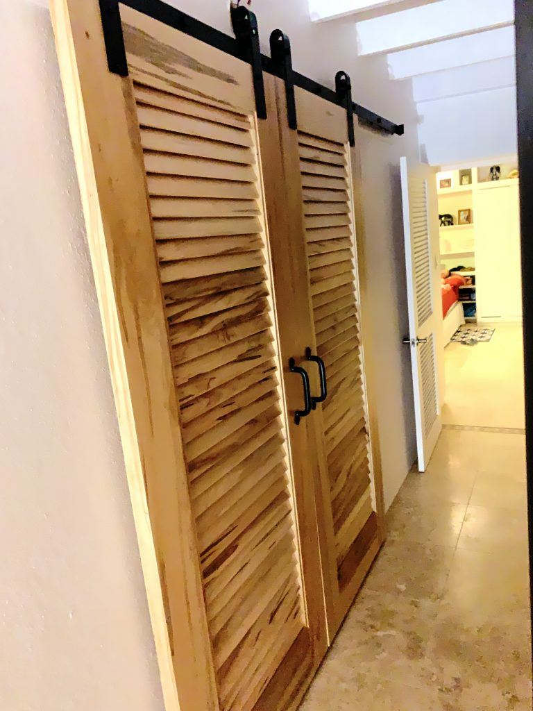 Laundry Doors - Our Bedroom Door Looks Weak Now
