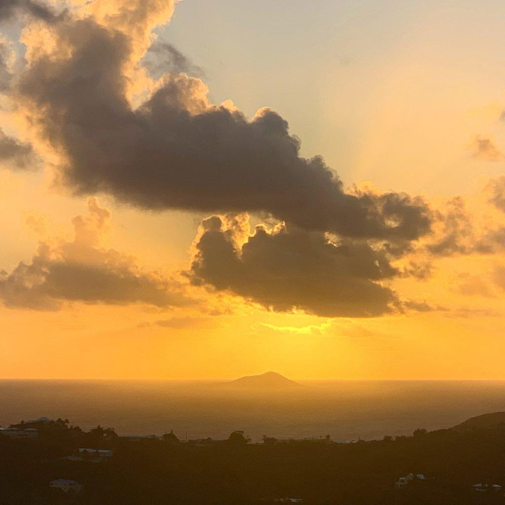 Sunrise at Windchime Estates Facing Buck Island