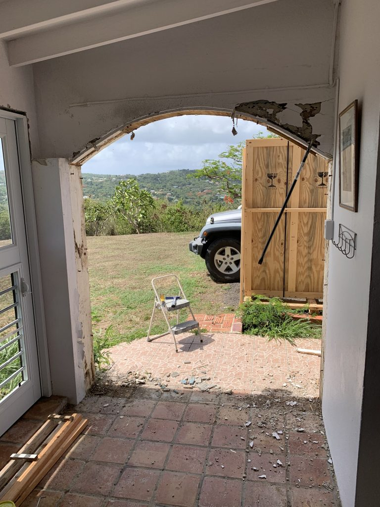 Replacing The View's French Door Entrance